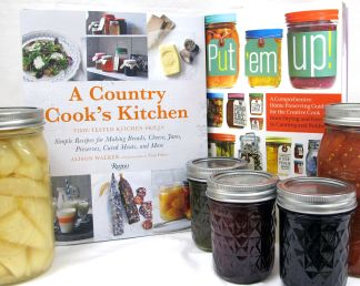 Cooking, Canning, Gardening Books